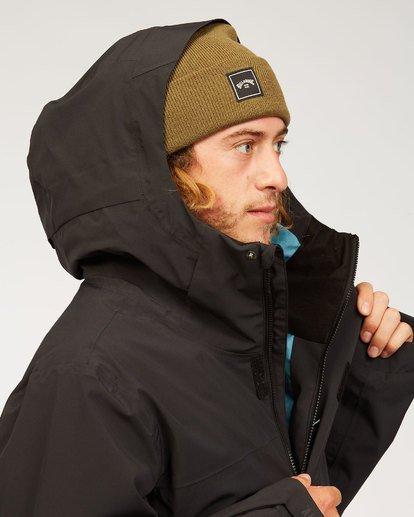 7 Adventure Division Collection Delta Stx - Wasserdichte Jacke für Männer Schwarz U6JM21BIF0 Billabong