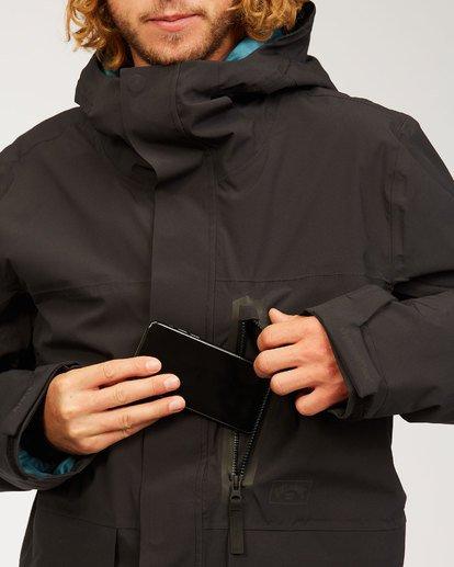 8 Adventure Division Collection Delta Stx - Chaqueta impermeable para Hombre Negro U6JM21BIF0 Billabong