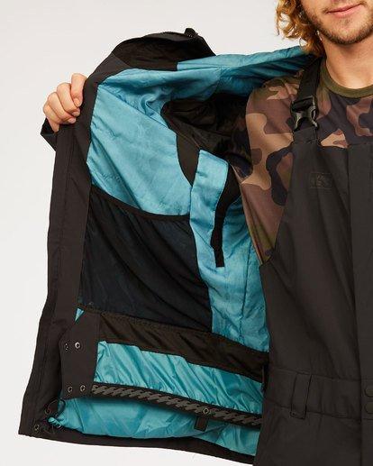 1 Adventure Division Collection Delta Stx - Wasserdichte Jacke für Männer Schwarz U6JM21BIF0 Billabong