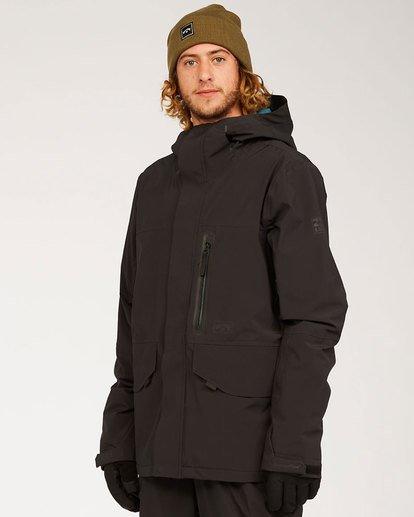 4 Adventure Division Collection Delta Stx - Wasserdichte Jacke für Männer Schwarz U6JM21BIF0 Billabong