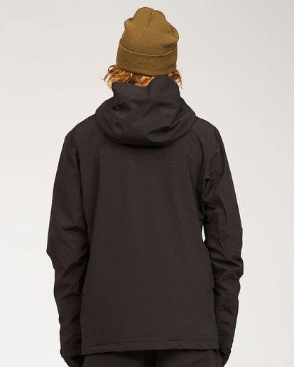 5 Adventure Division Collection Delta Stx - Chaqueta impermeable para Hombre Negro U6JM21BIF0 Billabong