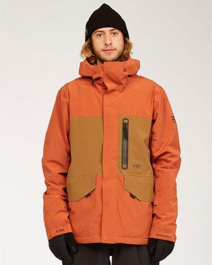 0 Adventure Division Collection Delta Stx - Wasserdichte Jacke für Männer  U6JM21BIF0 Billabong