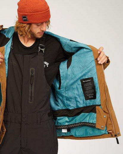 2 Adventure Division Collection Delta Stx - Wasserdichte Jacke für Männer Braun U6JM21BIF0 Billabong