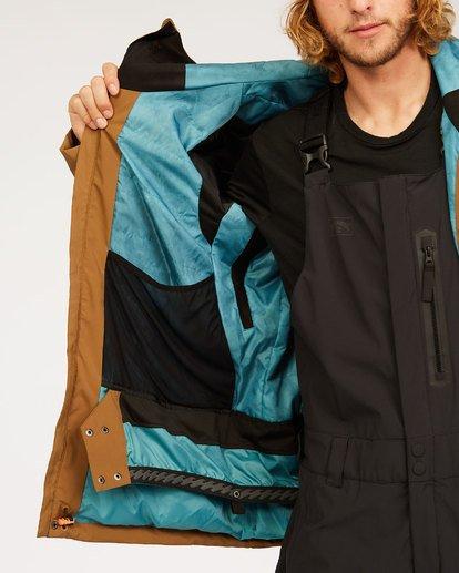 1 Adventure Division Collection Delta Stx - Waterproof Jacket for Men Brown U6JM21BIF0 Billabong
