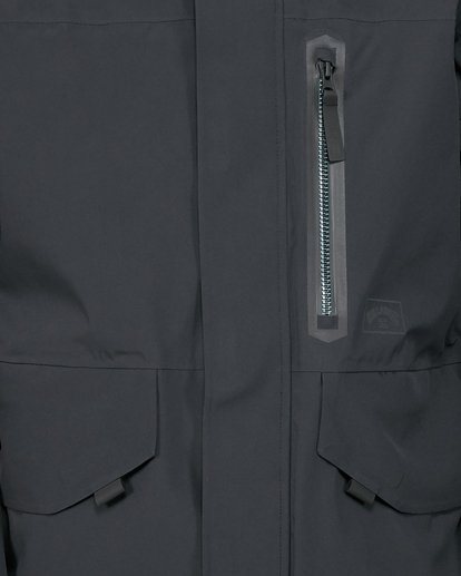 4 Delta SympaTex Jacket Black U6JM21S Billabong