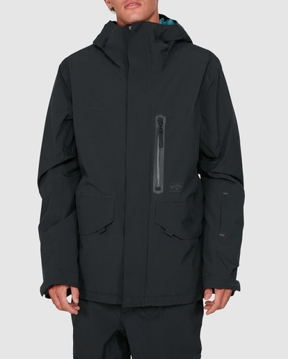 0 Delta SympaTex Jacket Black U6JM21S Billabong