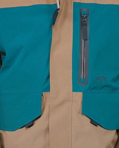 4 Delta SympaTex Jacket Brown U6JM21S Billabong
