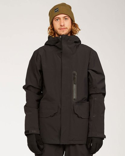 6 Delta SympaTex Jacket Black U6JM21S Billabong