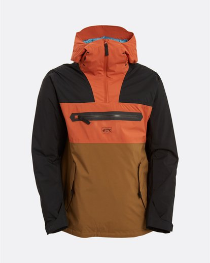 7 Adventure Division Collection Quest - Jacket for Men Brown U6JM23BIF0 Billabong