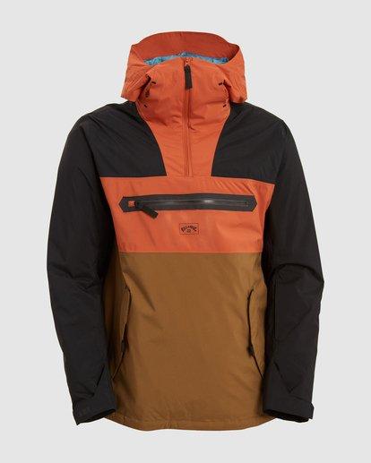 4 Quest Jacket Brown U6JM23S Billabong