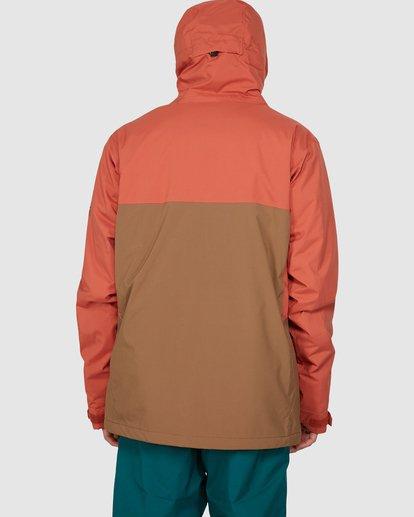 3 Expedition Jacket Orange U6JM24S Billabong