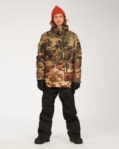 3 Adversary - Jacket for Men  U6JM25BIF0 Billabong