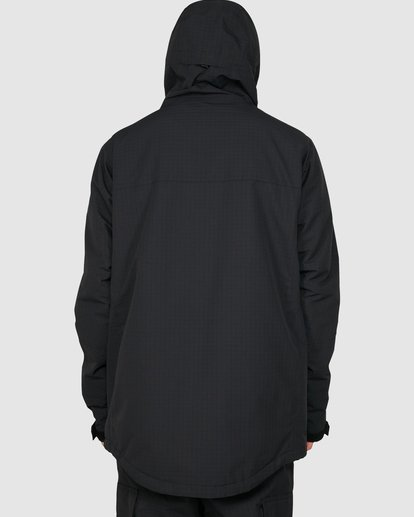 3 Adversary 2L 10K Jacket Black U6JM25S Billabong