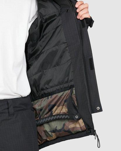 5 Adversary 2L 10K Jacket Black U6JM25S Billabong