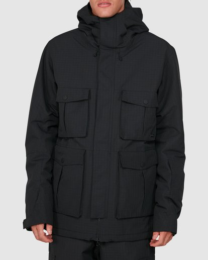 0 Adversary 2L 10K Jacket Black U6JM25S Billabong