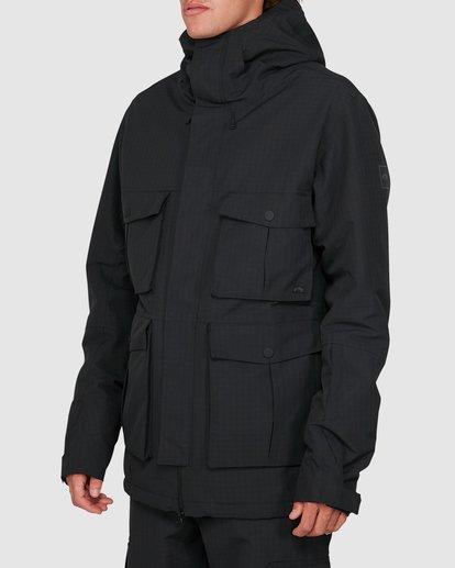 1 Adversary 2L 10K Jacket Black U6JM25S Billabong