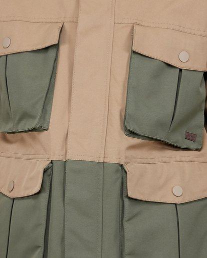 4 Adversary 2L 10K Jacket Brown U6JM25S Billabong