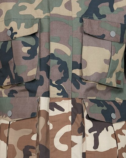 4 Adversary Jacket Camo U6JM25S Billabong