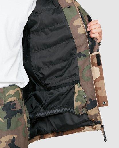 5 Adversary Jacket Camo U6JM25S Billabong