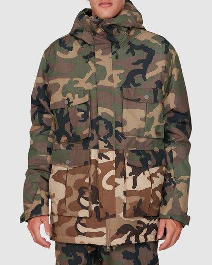 0 Adversary Jacket Camo U6JM25S Billabong