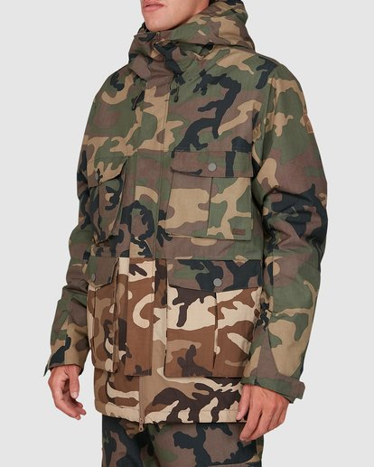 1 Adversary Jacket Camo U6JM25S Billabong