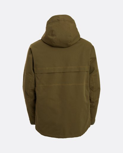 10 Shadow - Jacket for Men Green U6JM26BIF0 Billabong