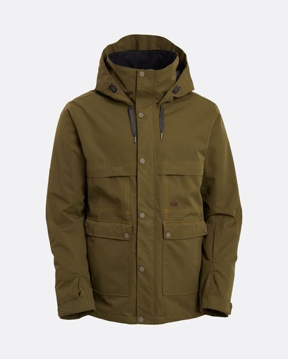 9 Shadow - Jacket for Men Green U6JM26BIF0 Billabong