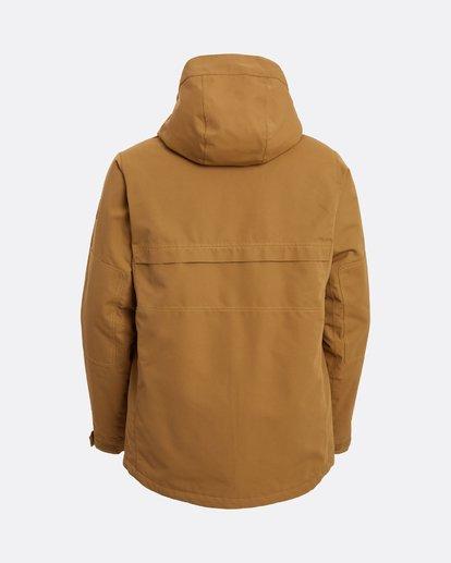 11 Shadow - Jacket for Men Brown U6JM26BIF0 Billabong