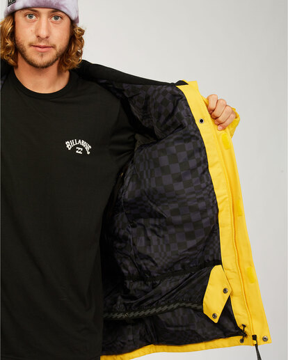 4 Shadow - Jacket for Men Grey U6JM26BIF0 Billabong