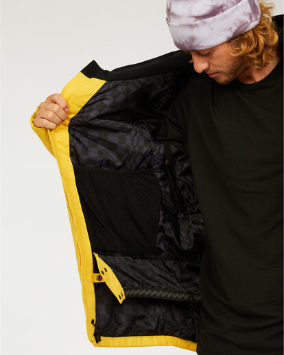 5 Shadow - Jacket for Men Grey U6JM26BIF0 Billabong