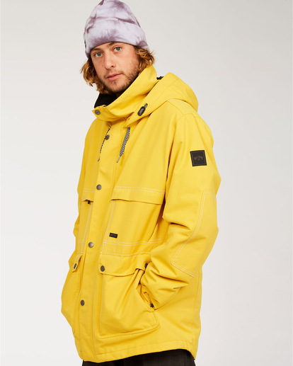 1 Shadow - Jacket for Men Grey U6JM26BIF0 Billabong