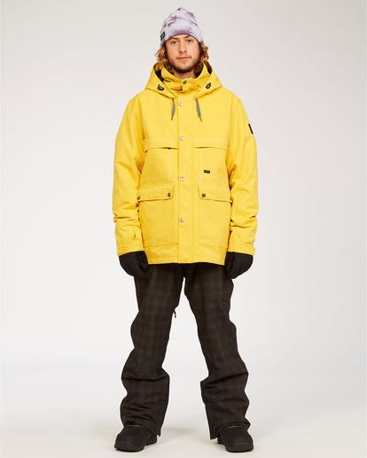 3 Shadow - Jacket for Men Grey U6JM26BIF0 Billabong