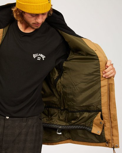 4 Shadow - Jacket for Men Brown U6JM26BIF0 Billabong