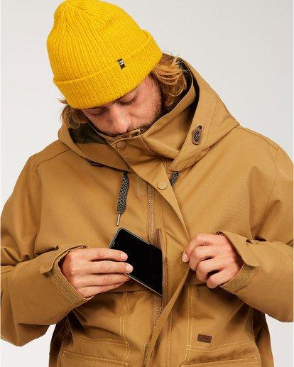 3 Shadow - Jacke für Männer Braun U6JM26BIF0 Billabong