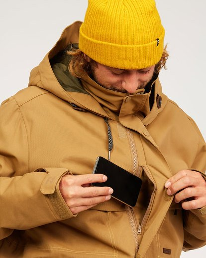 9 Shadow - Jacket for Men Brown U6JM26BIF0 Billabong