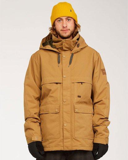 0 Shadow - Jacket for Men Brown U6JM26BIF0 Billabong