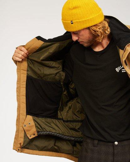 5 Shadow - Jacket for Men Brown U6JM26BIF0 Billabong