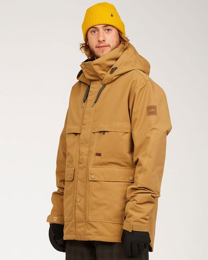 1 Shadow - Jacket for Men Brown U6JM26BIF0 Billabong