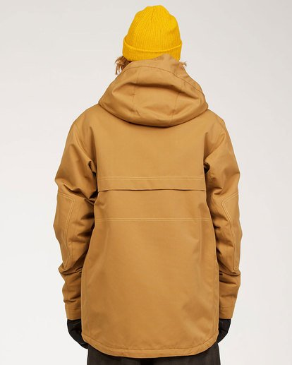 2 Shadow - Jacket for Men Brown U6JM26BIF0 Billabong