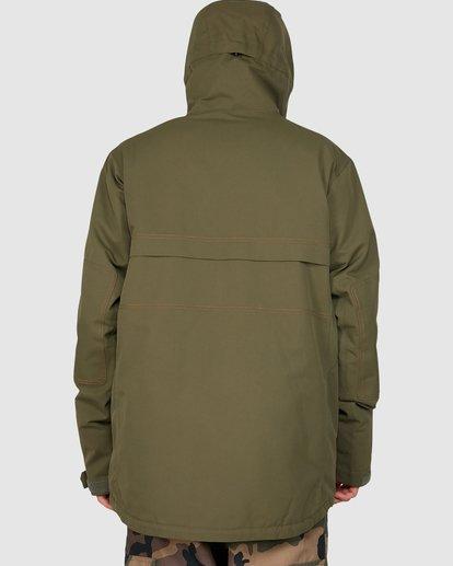 3 Shadow Jacket Green U6JM26S Billabong