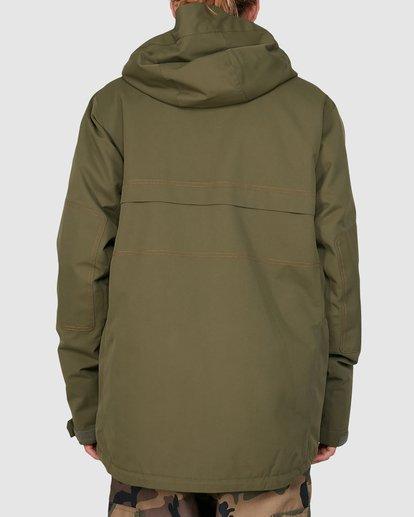 2 Shadow Jacket Green U6JM26S Billabong