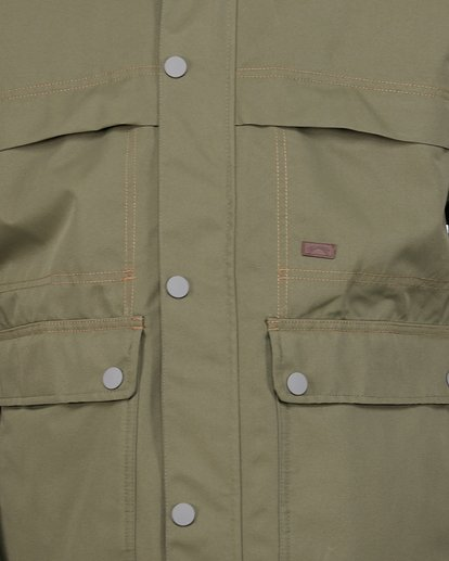 4 Shadow Jacket Green U6JM26S Billabong