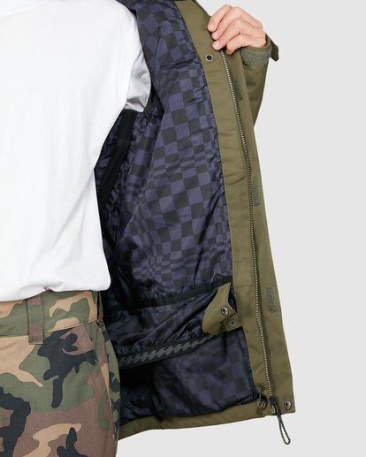 5 Shadow Jacket Green U6JM26S Billabong