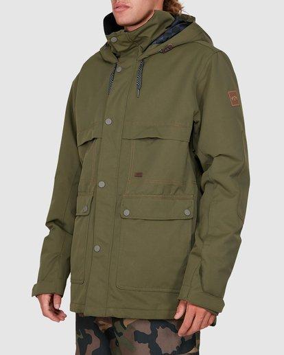 1 Shadow Jacket Green U6JM26S Billabong