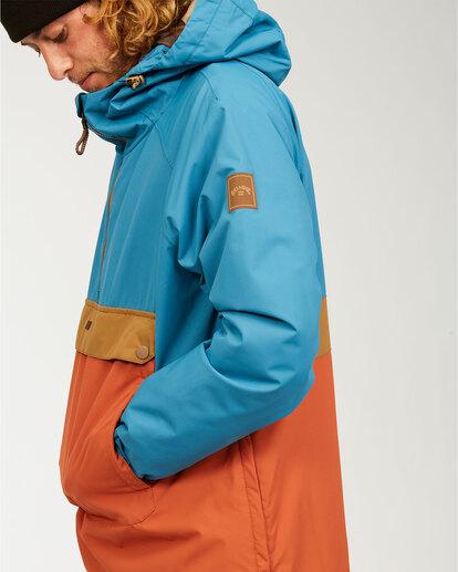 6 Stalefish - Jacket for Men Blue U6JM27BIF0 Billabong