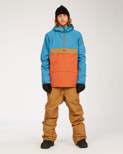 3 Stalefish - Jacket for Men Blue U6JM27BIF0 Billabong