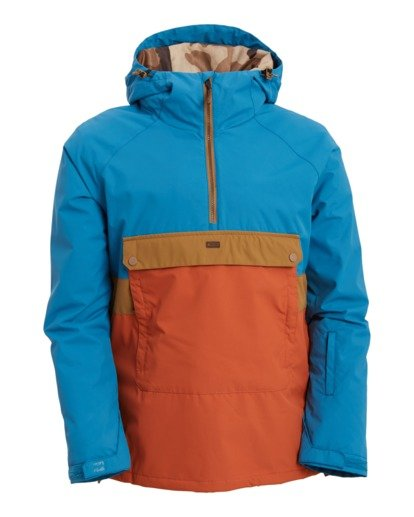 3 Stalefish Jacket Blue U6JM27S Billabong