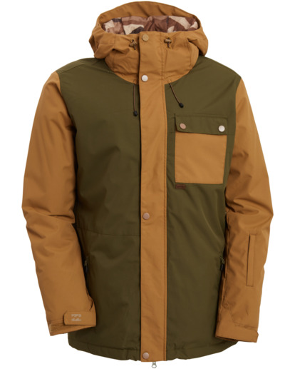 0 Arcade - Jacket for Men Green U6JM28BIF0 Billabong