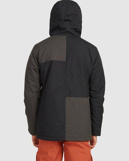 3 Arcade Jacket Black U6JM28S Billabong