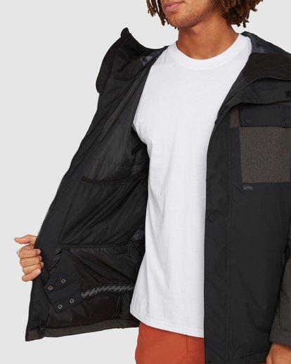 4 Arcade Jacket Black U6JM28S Billabong